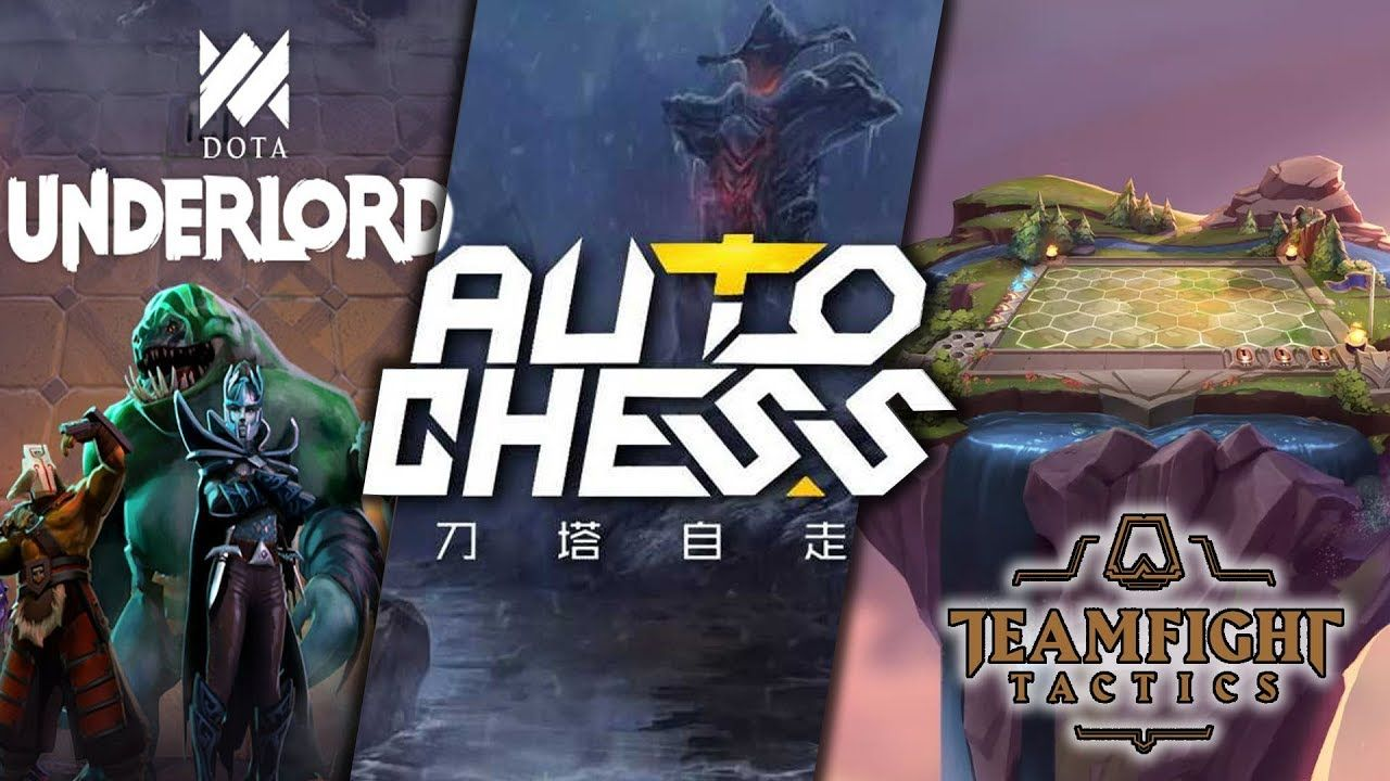 Auto Battlers Have Arrived: Teamfight Tactics vs. Dota Underlords vs. Auto Chess